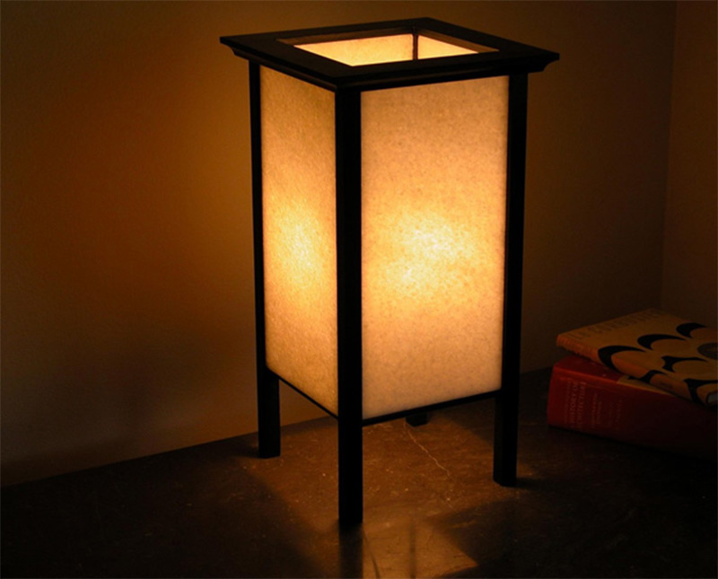 Handmade Etsy Rectangular Crystal White Marble Lamp