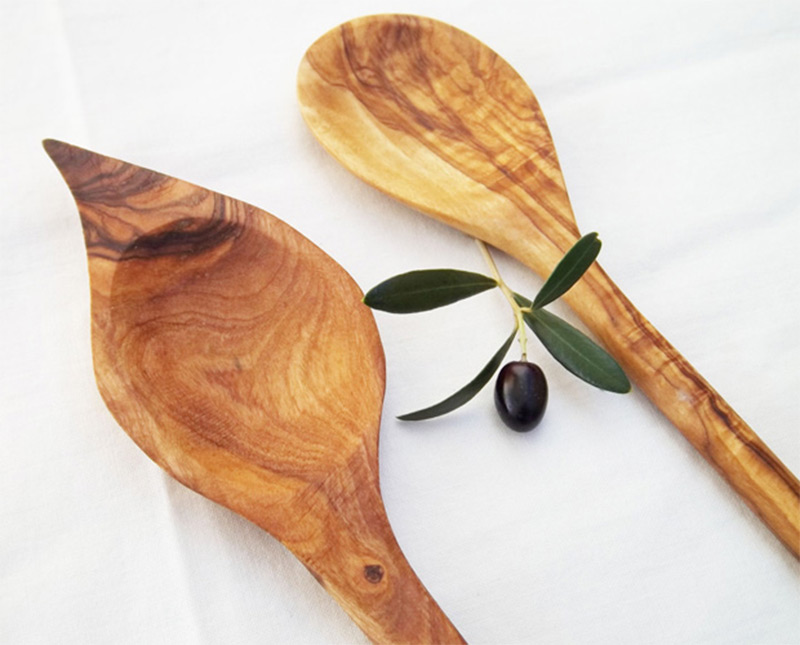 olive wood sauce spoon longer cooking